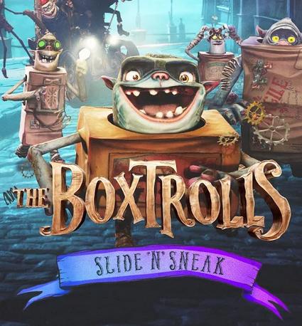"""""""Boxtrolls: Slide 'N' Sneak"""": il gioco ufficiale del film in arrivo il 2 ottobre al cinema"""