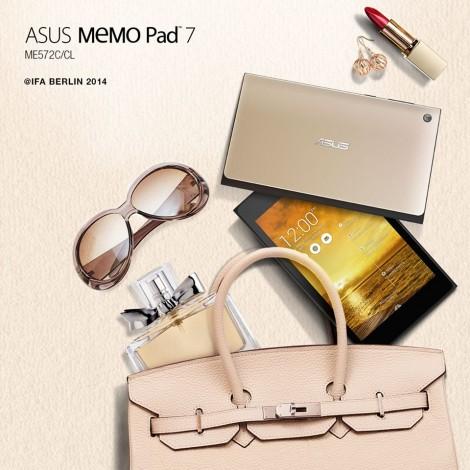 Asus MemoPad 7 ufficiale: ecco il tablet di quarta generazione di Asus