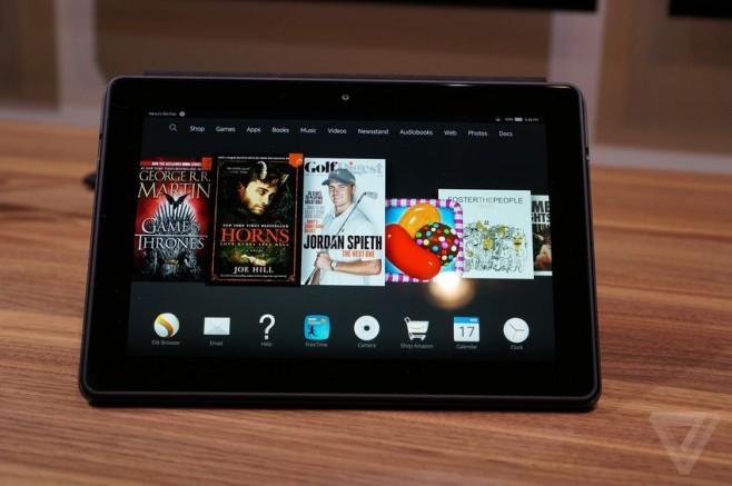 Amazon Fire HDX 8,9 pollici ufficiale: Snapdragon 805 e schermo QHD