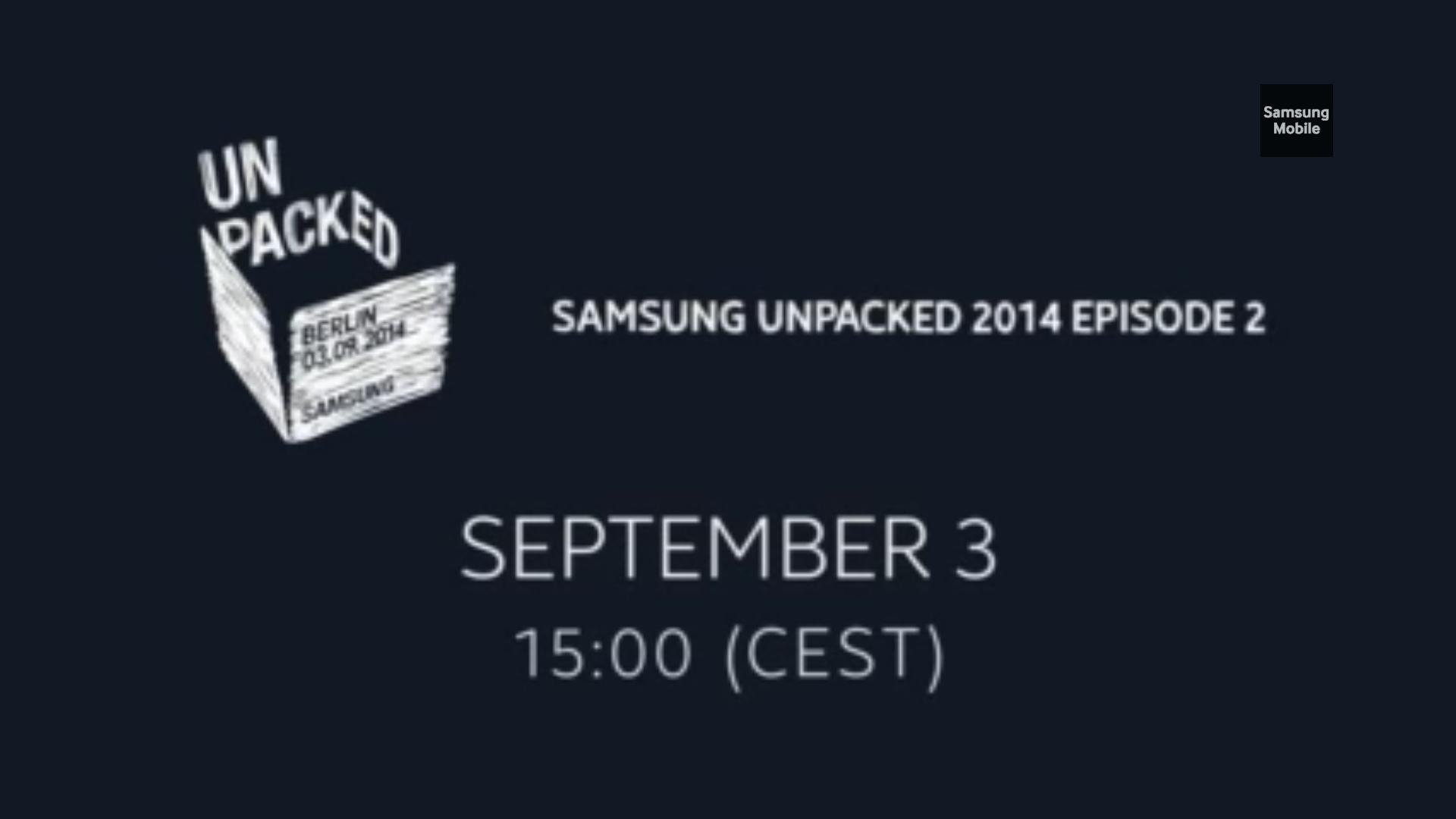 Unpacked 2014 (2°) : Samsung Galaxy Note 4 LIVE BLOG