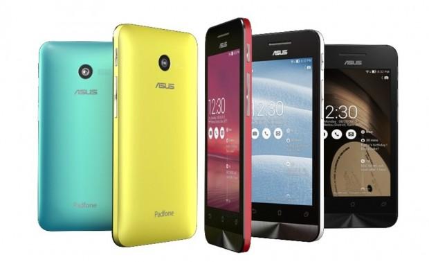 Asus Zenfone 4, 4.5, 5 e 6 disponibili alla vendita attraverso i canali ufficiali