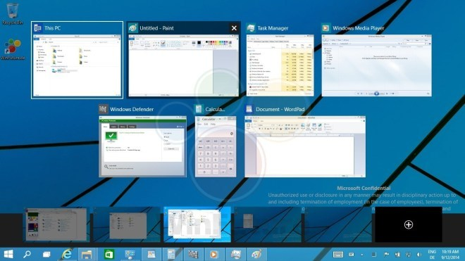 Windows 9: ecco un video sul multi-desktop