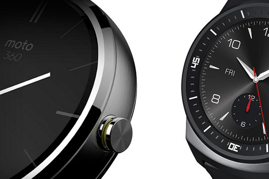 Motorola Moto 360 VS LG G Watch R: ecco i due smartphone circolari a confronto in un video