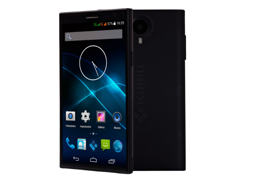 Komu Energy: ecco il primo smartphone con doppia batteria
