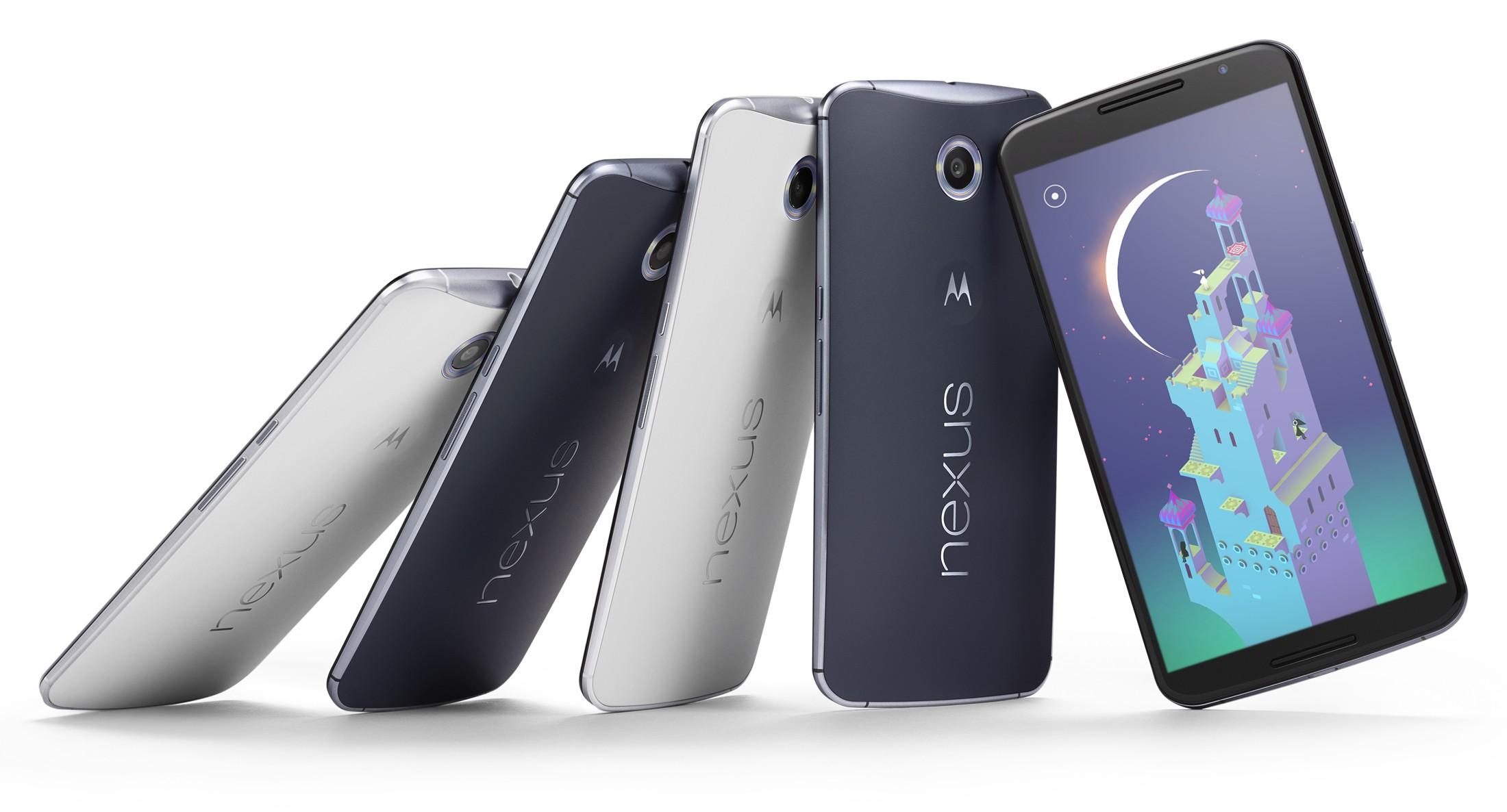 Nexus 6: 5.95″ inches, Snapdragon 805 e…