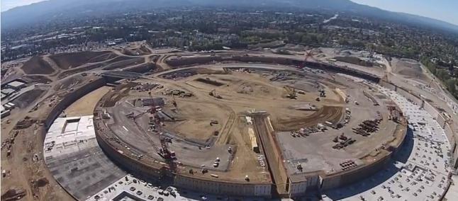 Apple Campus 2, nuovo video realizzato da un drone evidenzia la struttura