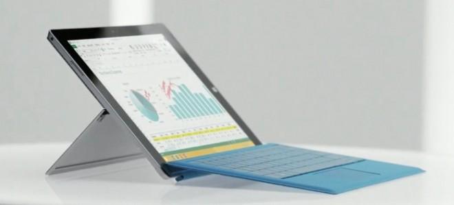 Surface Pro 3 si aggiorna: un nuovo firmware che migliora Wi-Fi e prestazioni grafiche