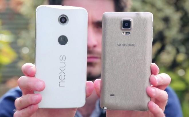 Nexus 6 si mostra in un primo video dal vivo e si confronta con Note 4