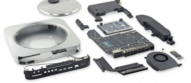 Mac Mini teardown: secondo iFixit ha un basso grado di riparabilità