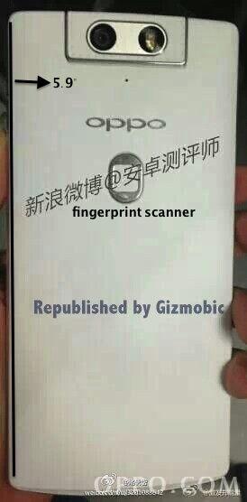 Oppo N3: confermato il sensore di impronte digitali