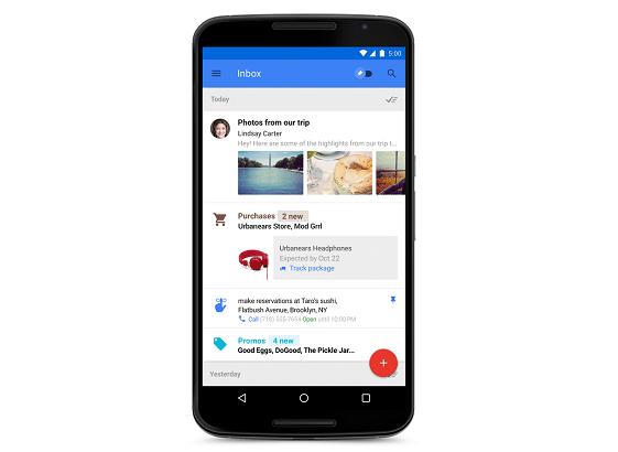 Inbox arriva su Android e anche su IOS…alla faccia di Gmail!