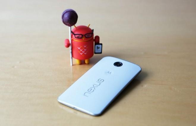 Nexus 6 riceve l'aggiornamento OTA alla build LRX210