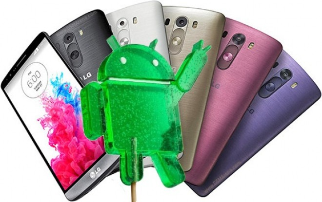 LG G3: ecco Android 5.0 Lollipop