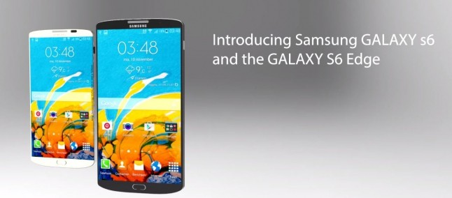 Samsung Galaxy S6 e Galaxy S6 Edge: eccoli in un primo concept