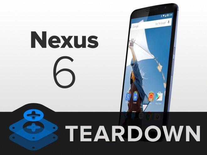 Nexus 6 protagonista di un nuovo Teardown di iFixit:La reparabilità sembra essere buona
