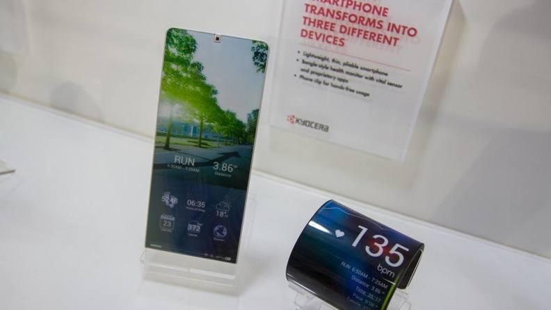Kyocera proteus: ecco un concept dello smartphone pieghevole