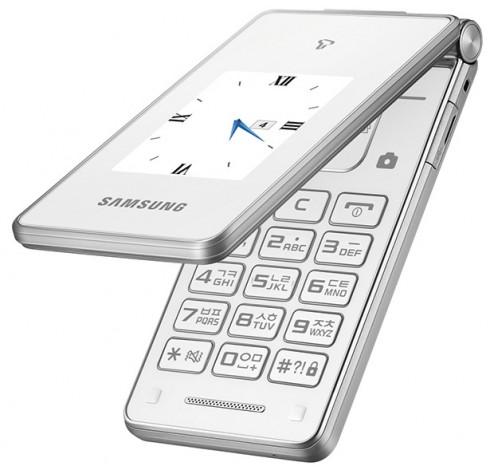Samsung Master Dual, nuovo flip-phone Android molto elegante