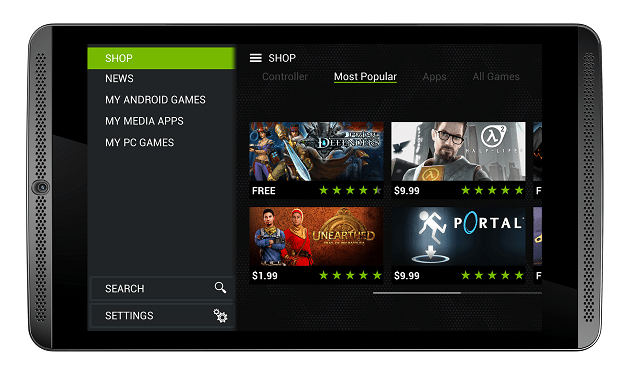 Android 5.0 Lollipop per NVIDIA SHIELD Tablet si mostra in video