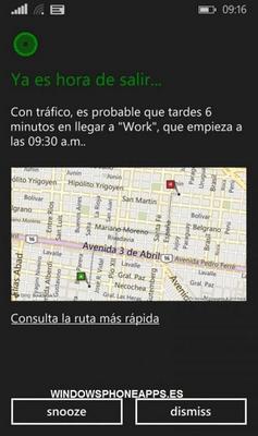 Cortana aggiunge la lingua spagnola