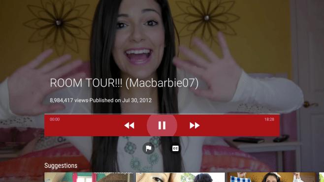 YouTube per Android TV arriva all'interno del Play Store
