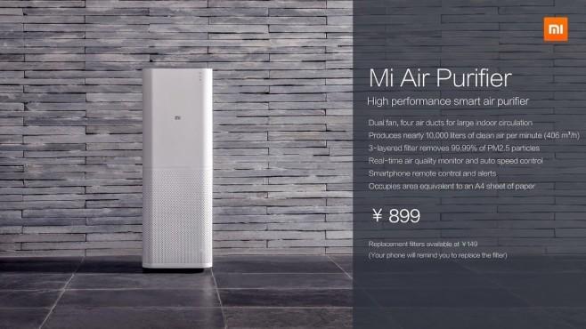 Xiaomi presenta un ventilatore e purificatore super tecnologico!