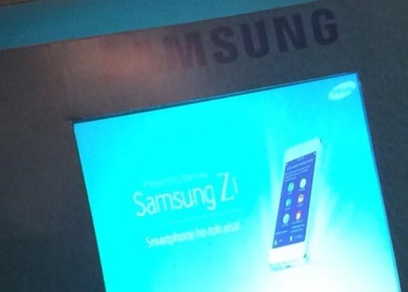Il 18 Gennaio Samsung presenterà Z1 uno smartphone con Tizen