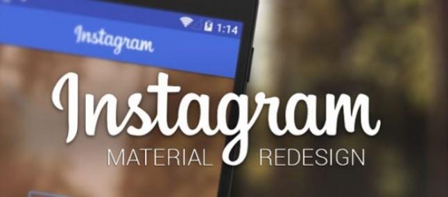 Instagram in Material Design? Ecco un nuovo concept!