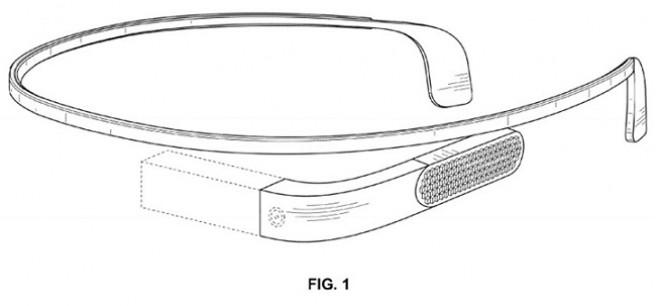 Google Glass: un nuovo brevetto svela un nuovo design