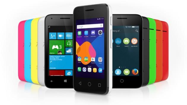 Alcatel presenterà 4 smartphone con 3 sistemi operativi diversi