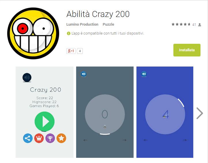 Crazy 200, un gioco di concentrazione tutto italiano!