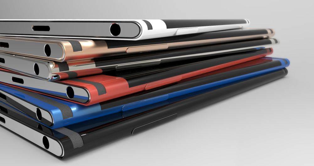 Sony Xperia Curve: ecco il presunto smartphone di Sony con schermo curvo