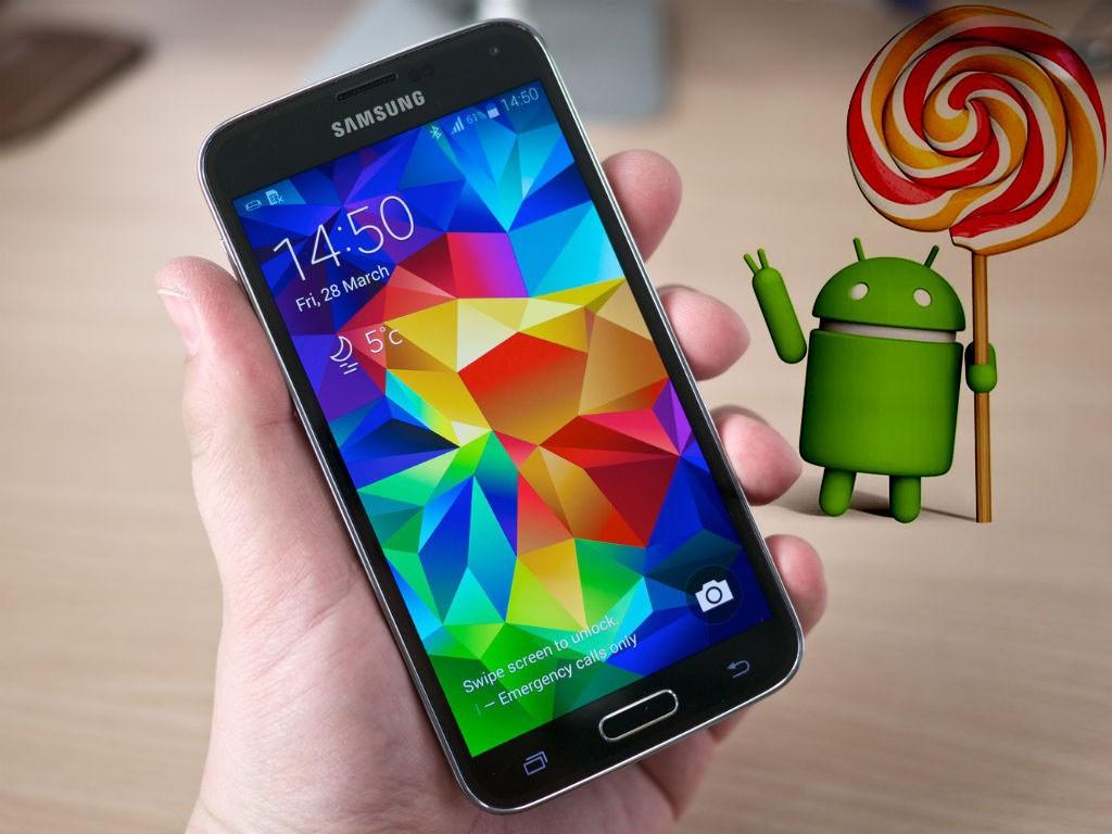 Samsung Galaxy S5: arriva l'aggiornamento a Lollipop per il brand Vodafone Italia