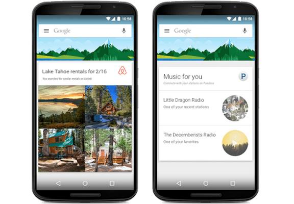 Google Now sarà compatibile anche con Applicazioni di terzi