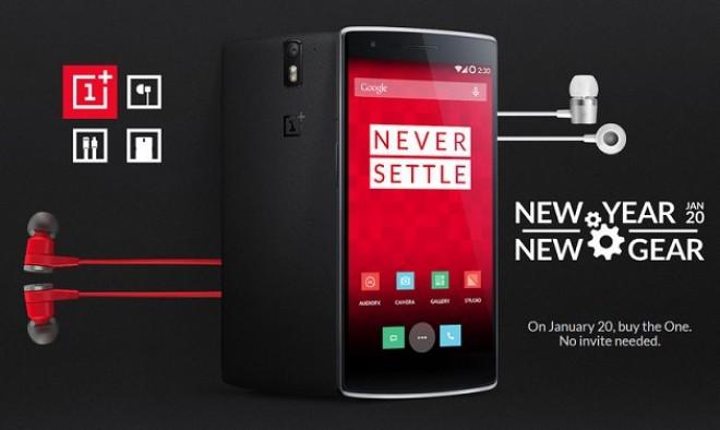 OnePlus One: acquistabile senza invito il giorno 20 Gennaio