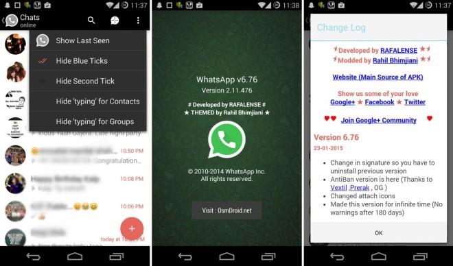 Whatsapp Plus esiste ancora e si aggiorna con AntiBan alla versione 6.76