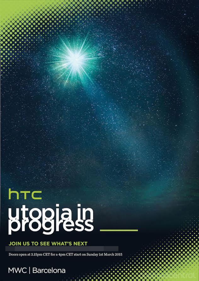 HTC terrà un evento a Barcellona il prossimo 1° Marzo