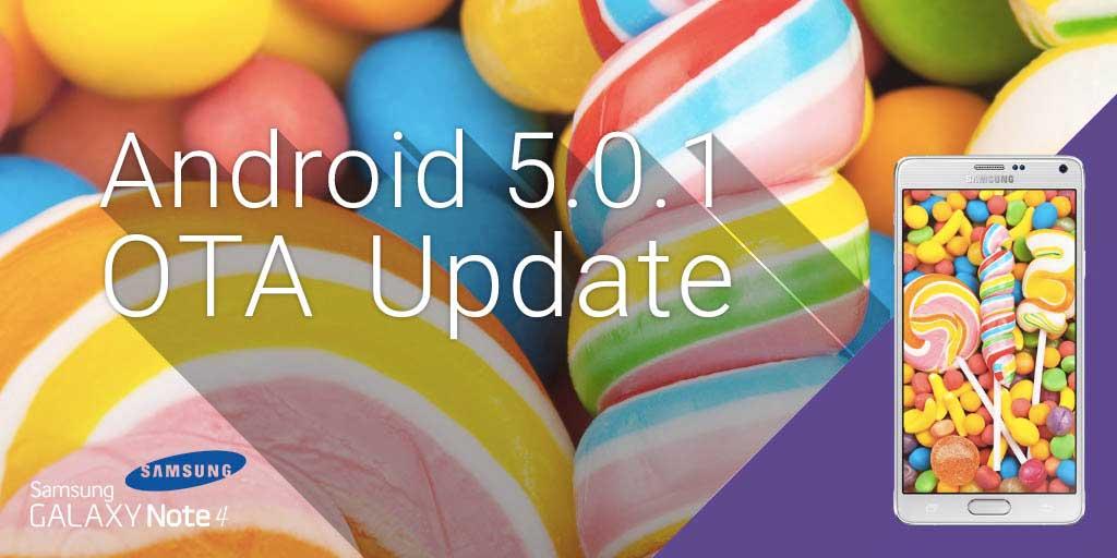 Aggiornamento Samsung Galaxy Note 4: posticipato a causa di Gear VR