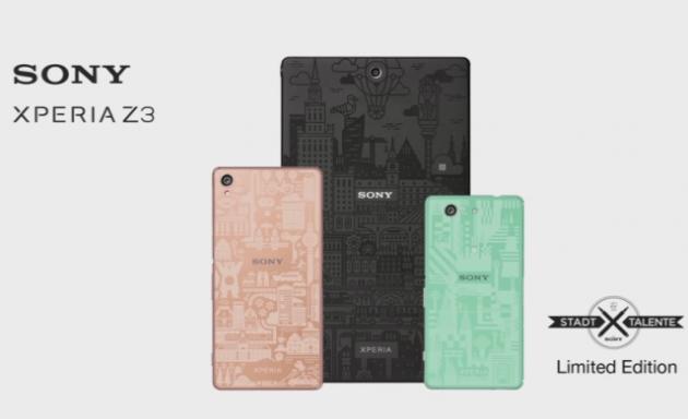 Edizioni Limitate dello Z3, Z3 compact e Z3 Tablet Compact