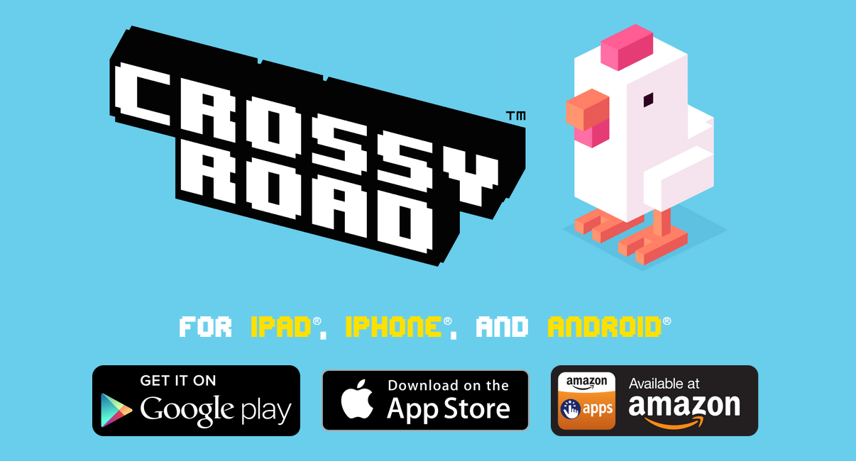 CrossyRoad, divertirsi attraversando la strada!