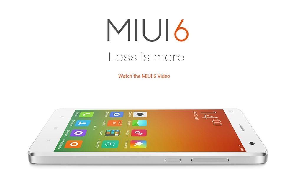 La MIUI V6 arriva anche su Xiaomi Redmi 1S