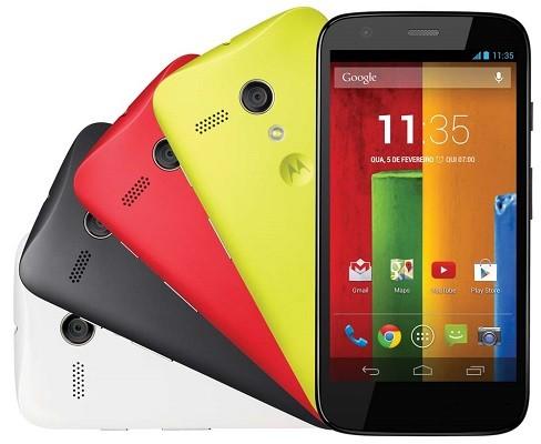 Motorola mostra un avviso sui Moto G 2013 in vista di Lollipop