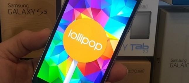 Samsung Galaxy S5 TIM: arriva l'update a Lollipop