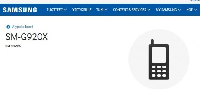 Sul sito Samsung appaiono le pagine di Supporto di Galaxy S6
