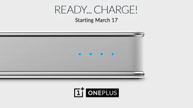 Il PowerBank di OnePlus arriverà nel mercato il 17 Marzo