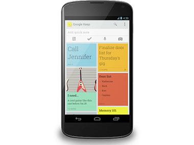 Android: le nuove funzionalità di Google Keep