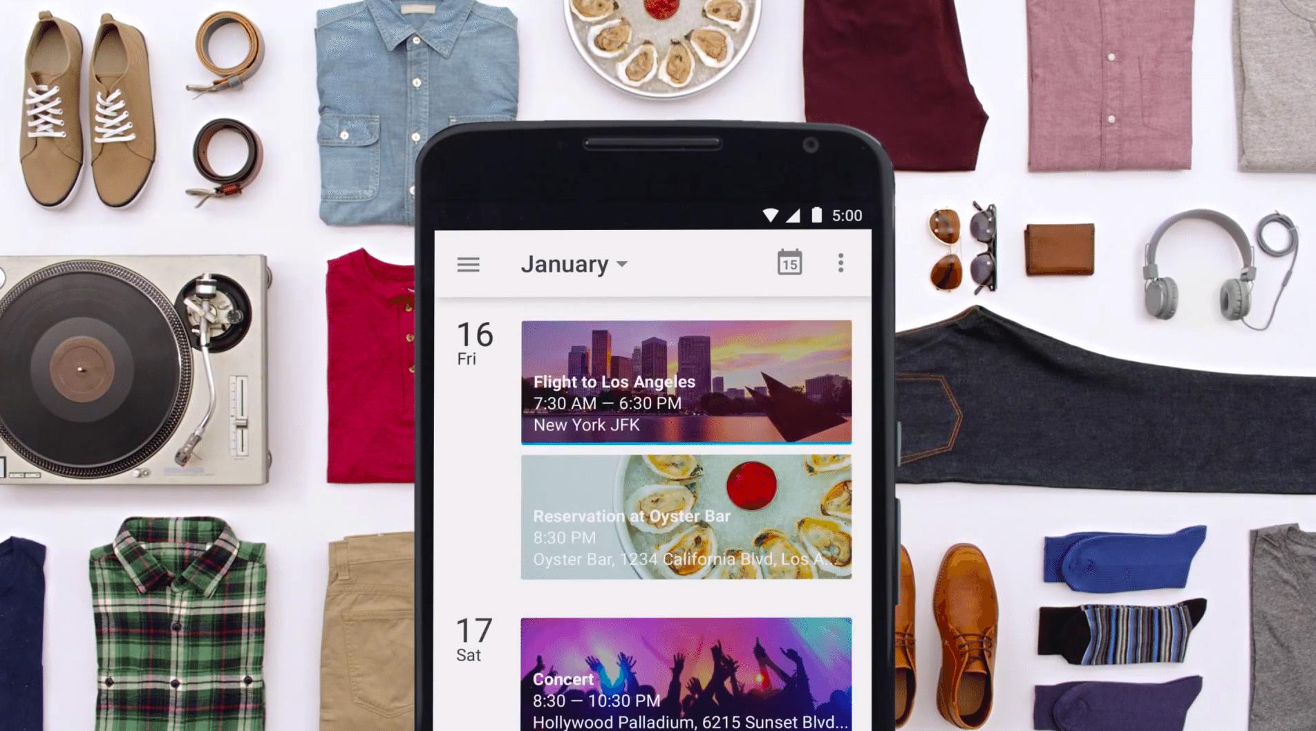 Google Now compatibile con tutte le applicazioni Android