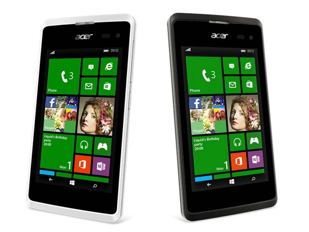 Acer presenta un nuovo Windows Phone