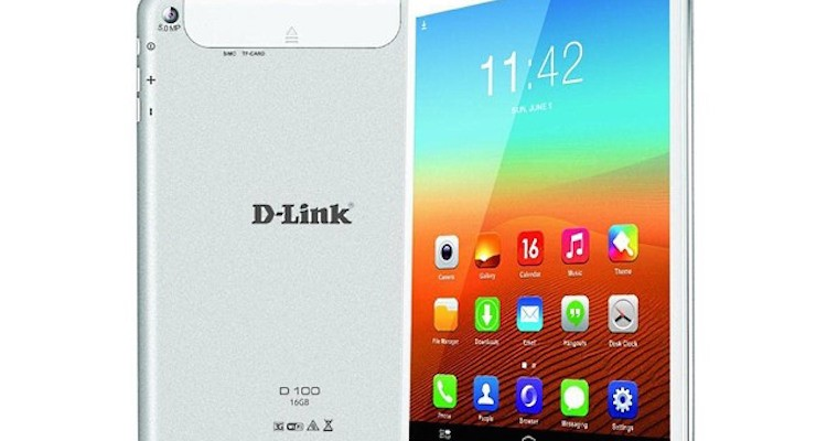 D-Link, ecco il tablet D100 con Android