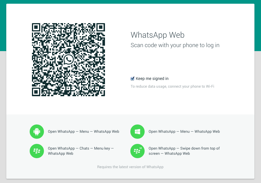 Come accedere a Whatsapp Web da smartphone a PC