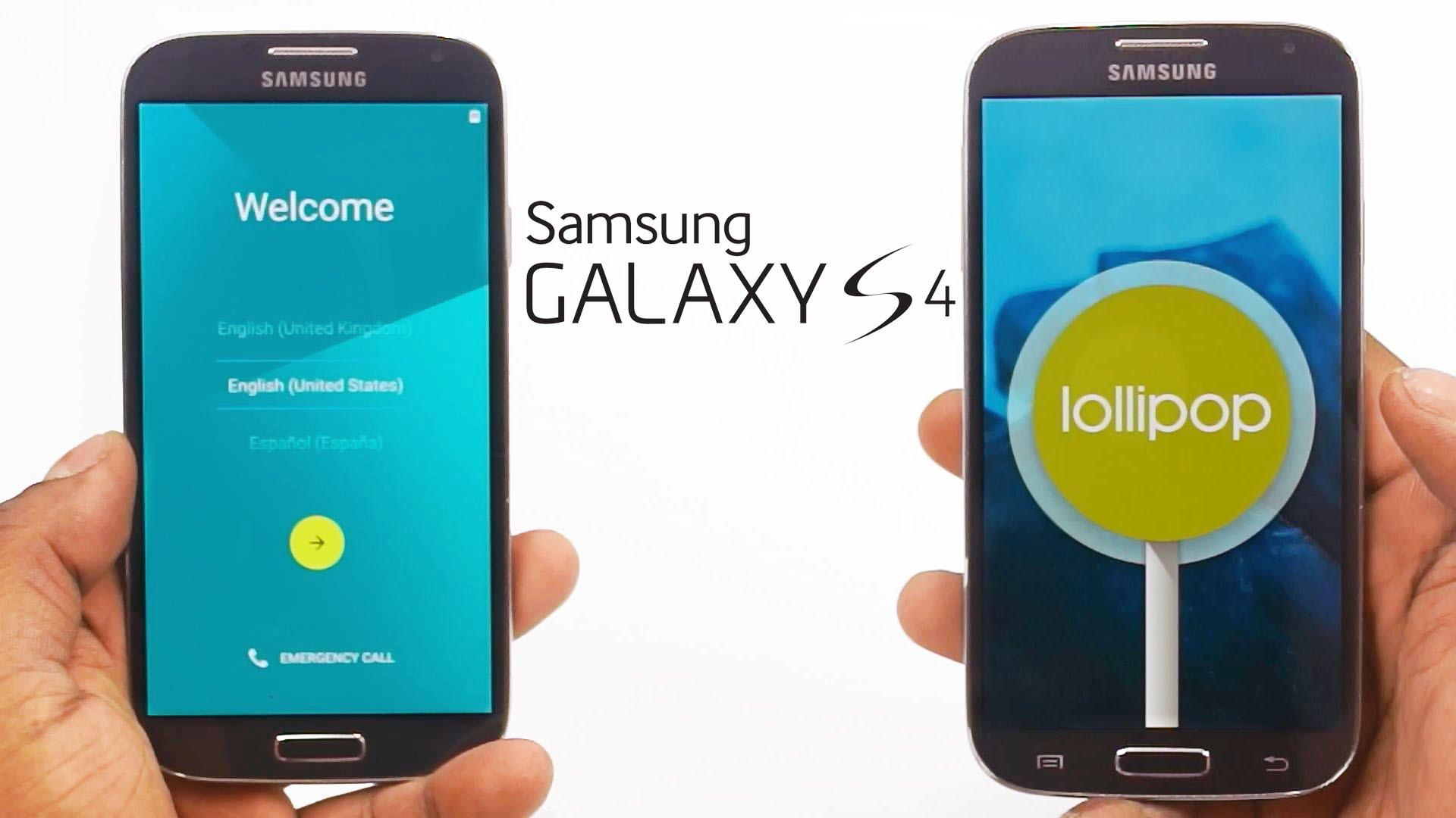 Samsung Galaxy S4 riceve l'aggiornamento Android 5.0.1 Lollipop in Italia